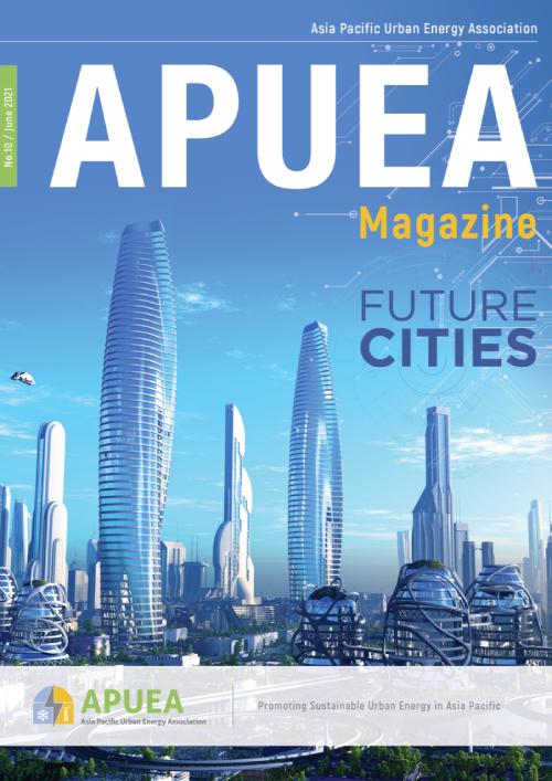 cover of APUEA magazine Issue 10 2021