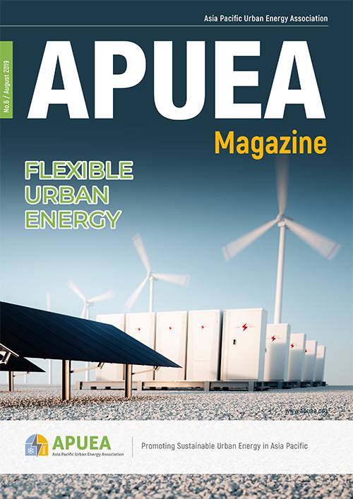 cover of APUEA magazine Issue 6 2019