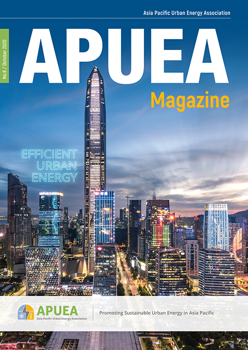 cover of APUEA magazine Issue 8 2020