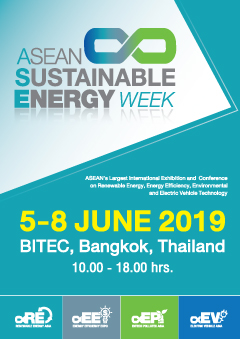 ASEAN Sustainable Energy Week, 5-8 June 2019 in Bangkok, Thailand