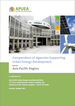 cover of compendium agencies supporting urban energy development